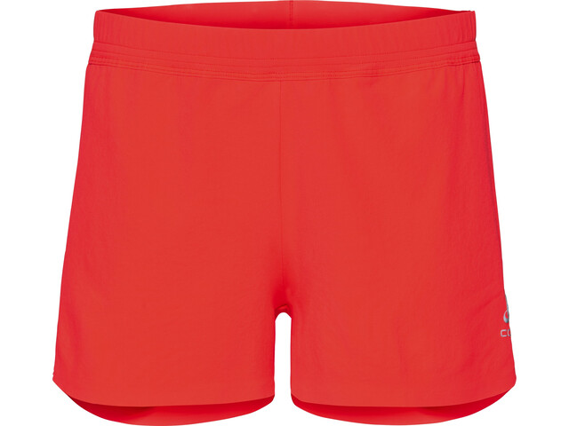 70c38a1c129182 Odlo Zeroweight X-Light Shorts Women fiery coral
